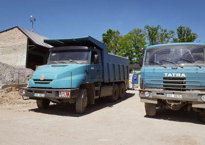 Kontejnerová doprava Milovice